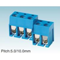 Wholesale Blue PCB Screw Female Terminal Female Socket Block , 10.8MM Pitch from china suppliers