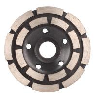 Wholesale Turbo Row Diamond Grinding Wheel , 4 Inch ~ 9 Inch Diamond Cutting Blades for Concrete from china suppliers