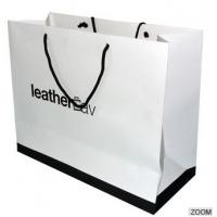 Wholesale Luxury Printed Paper Carrier Bags Full Color , Paper Gift Bags With Handles from china suppliers