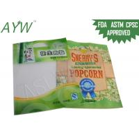 China NY PE Lined Fresh Popcorn Food Vacuum Bags For Frozen Storage Vacuum Packaging on sale