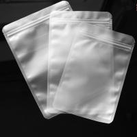 Quality Matte Clear Resealable Plastic Ziplock Bags Pouch For Food Packaging for sale