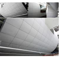 Wholesale Moisture Proof Compounded Fiberglass Curved Ceiling Panels 600 * 600 For Shopping Center from china suppliers