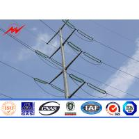 Wholesale 11m / 12m S500MC Electrical Power Pole Anti Rust For Electricity Distribution from china suppliers