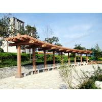 Wholesale park pergola,plastic wood composites park covering with different color option from china suppliers