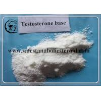 Buy cheap Bodybuilding Testosterone Base Raw Steroid Powders Muscle Growth 58-22-0 from wholesalers