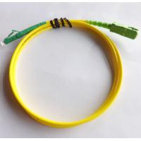 Wholesale LC / APC - SC / APC - SM - SX-3.0mm-5mtrs-Ofnp Optical Fiber Patch Cord Yellow Fiber Patch Cables from china suppliers