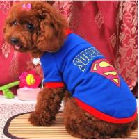 Wholesale superman Summer Dog Cloth/Apparel from china suppliers