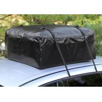 Quality Car Organizer Canvas Roof Rack Bag , Roof Top Cargo Bag For Car Without Roof Rack  for sale