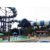 Wholesale Extreme Outdoor Big Raft Fiberglass Adult Water Slide For Water Park from china suppliers