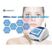 Buy cheap Portable OEM / ODM touching screen operating mode diode laser spider 980 nm machine from wholesalers
