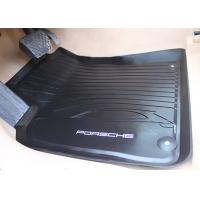 Wholesale PVC Black Floor Mats for Porsche Macan 2014 2016 , Foot Mat with Original Style Logo from china suppliers
