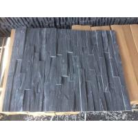 Wholesale Charcoal Slate Stone Panel 4 Layers Natural Stone Veneer Rough Surface Real Culture Stone from china suppliers