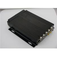 Wholesale Security 4 Channel Mobile DVR Realtime For City Bus , h.264 Mobile DVR from china suppliers