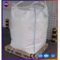 Quality White Flexible Intermediate Bulk Containers Virgin Pp White Fibc Big Bag 1 Ton for sale