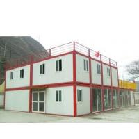 Wholesale Modern Flat Roof Prefab Houses Container Modified Prefabricated Sandwich Panel House from china suppliers