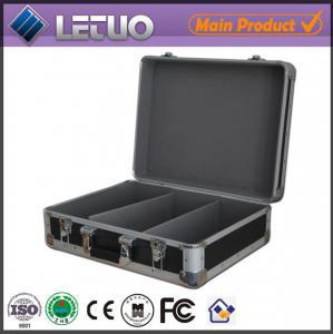 Wholesale Aluminum china wholesale stylish cd case LP flight case To Fit 80 CD