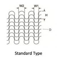 Buy cheap Monel Knitted Wire Mesh With Standard Monel 400 and Inconel 600 Wire from wholesalers