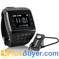 Wholesale Panther - Dual SIM Watch Mobile Phone (Touchscreen, Keypad, Quadband) from china suppliers