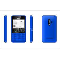 Wholesale 8G Qwerty Keypad Mobile Phone , 960mAh and Blue Dual SIM from china suppliers