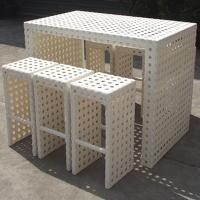 Wholesale Outdoor New Style Rattan Furniture Bar Set (BF-011) from china suppliers