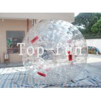 Wholesale Water Fun Game Transparent Safety Inflatable Zorb Ball For Sports Playground from china suppliers