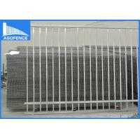 Quality Powder Painted Security Mesh Panels , Q235 Welded Wire Panels For Boundary Wall for sale