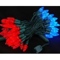 Wholesale Red and Blue 70 LED C6 Strawberry Mini Lights Commercial Grade from china suppliers