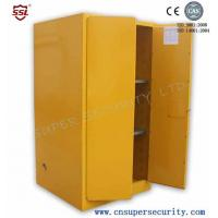Wholesale Zinc Lever Lock Pool Chemical Storage Cabinets With 2 Shelves Fully-welded  Durable and chemical Resistant from china suppliers