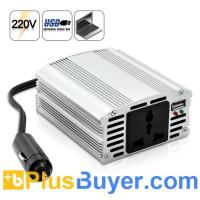 Wholesale 200W Power Inverter with USB Output (12V DC to 220V AC) from china suppliers