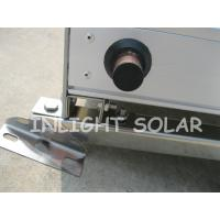 Quality 100L Non Pressure Flat Plate Solar Collector Black Chrome Coating Absorber for sale