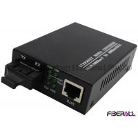 Wholesale Ethernet To Fiber Optical Media Converter And Transceiver 10 / 100 / 1000M SC DX from china suppliers