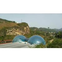 Wholesale Luxury Fiberglass Large Dome Tent / Geodesic Dome Tents For Permanent Hotel from china suppliers