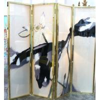 Wholesale Tempered Decorative Glass Partition For Sitting Room Partition , Handmake from china suppliers