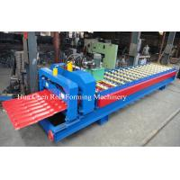 Wholesale Hydraulic Pressing Roof Color Steel Tile Roll Forming Machine in Blue from china suppliers