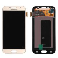 Wholesale For OEM Samsung Galaxy S6 SM-G920/G920A/G920P/G920R4/G920T/G920F LCD Screen and Digitizer Assembly - Gold - Grade A+ from china suppliers