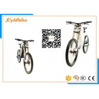 Wholesale Long Range Powerful Electric Bike Full Suspension / E Bike Mountainbike 25-40km/H Speed from china suppliers