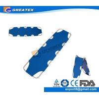 Wholesale Oxford Cloth Aluminum Alloy Two Folding Emergency Rescue Medical Stretcher (GT-FS05) from china suppliers