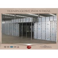 Wholesale GOWE metal formwork system / retaining wall formwork 300 times recycle from china suppliers