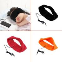 China 2017 Newest 3.5mm Anti-snore Wired Comfortable Thin Sweatband Stereo Sports Sleep Headphone on sale