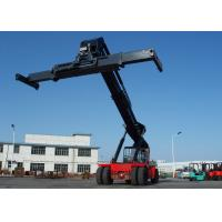 Wholesale Diesel Reach Stacker For Container , Container power lift forklift 45 Tons Rated capacity from china suppliers