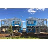 Quality High quality light Steel Frame Prefab Villa / Quick Assemble Prefab Homes for sale