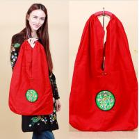 Buy cheap Factory OEM/ODM shoulder bags large size embroidered bag for ladies daily use canvas shoulder bag from wholesalers