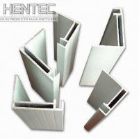 Buy cheap Standard aluminium extrusion profiles / shapes 6063 - T5 10 um from wholesalers