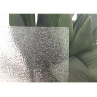 Wholesale Diamond Patterned Glass 5 Mm ~22 Mm For Toilet Shower Door Rain Flower Pattern from china suppliers