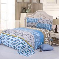 Wholesale Geometric Design Flat Sheet Pillowcases Duvet Cover Bedding Sets from china suppliers