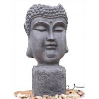 Wholesale Outside Garden Buddha Head Fountain / Asian Outdoor Fountain With CE GS TUV UL from china suppliers