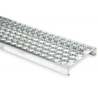 Wholesale Round Galvanized Steel Bar Gratings , metal grates for driveways one-piece plank from china suppliers