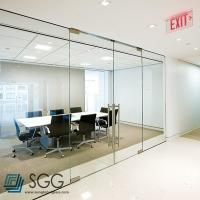 Wholesale clear/ultra clear/silkscreen/acid etched tempered glass partition 6mm 8mm 10mm 12mm from china suppliers