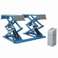 Buy cheap Car Scissor Lift with Four Hydraumatic Cylinders and Italian Solenoid Valve for Safety/Stability from wholesalers