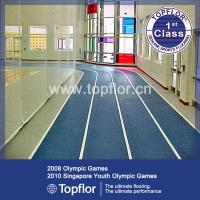Wholesale Indoor Rubber sports flooring for running track from china suppliers